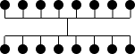 Complete Bipartite Graph Bundled