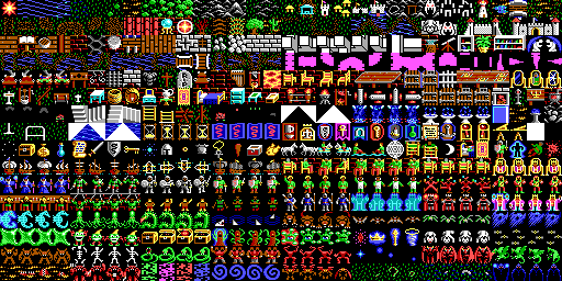 Image of the tileset