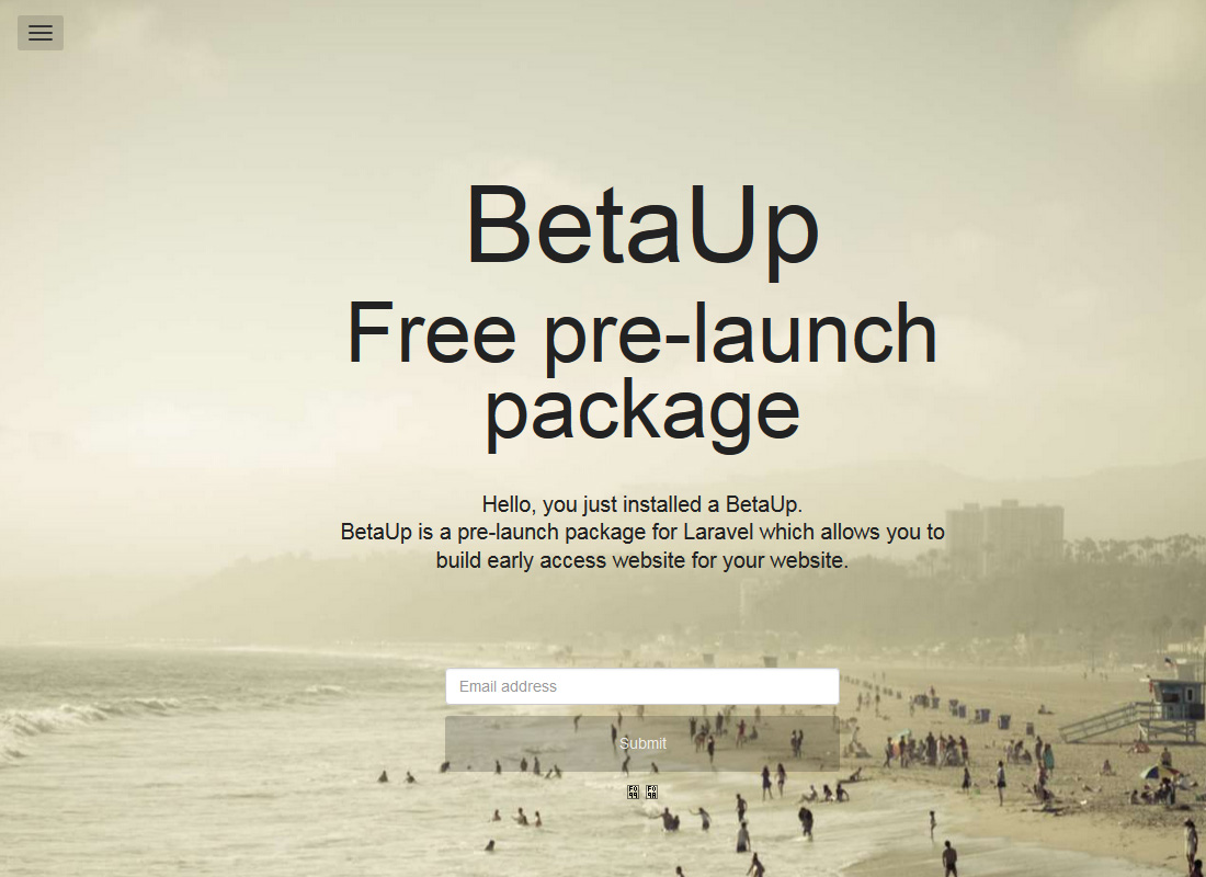BetaUp Default Theme - Magister
