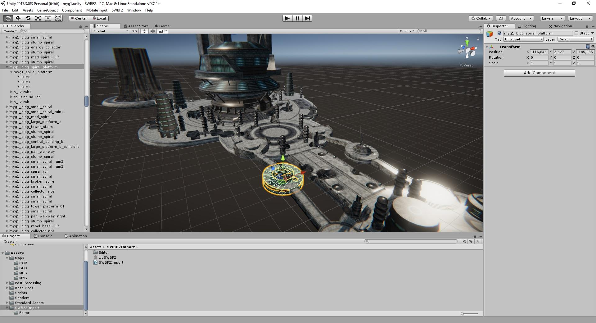 Unity SWBF 2 Import - UnityList