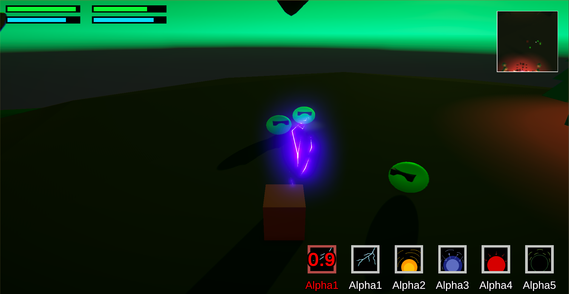 combat gameplay