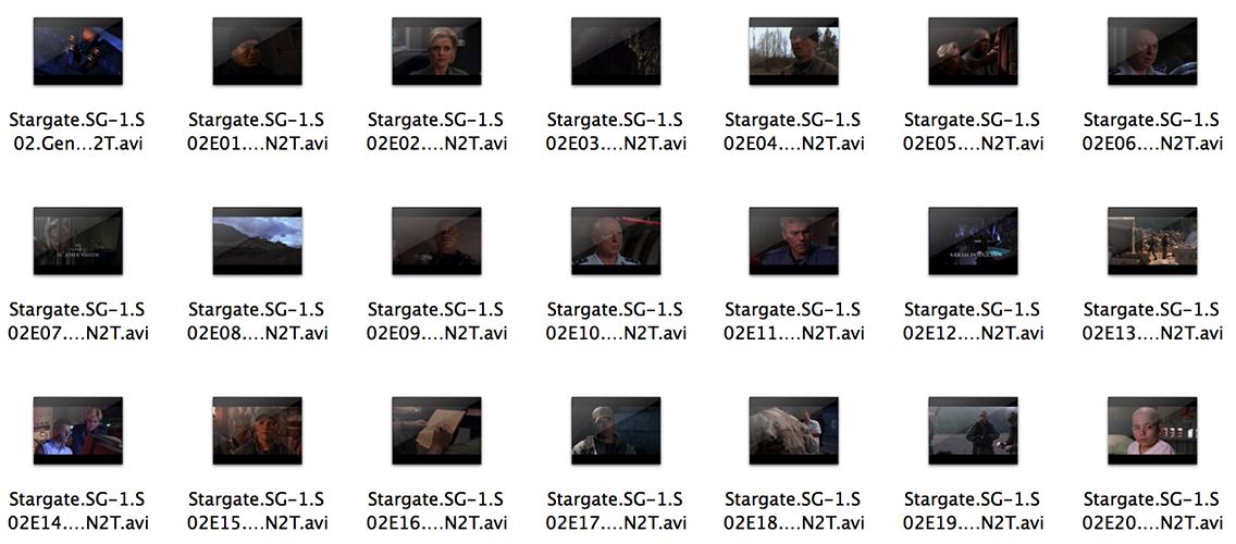 QuicklookVideo finder icons