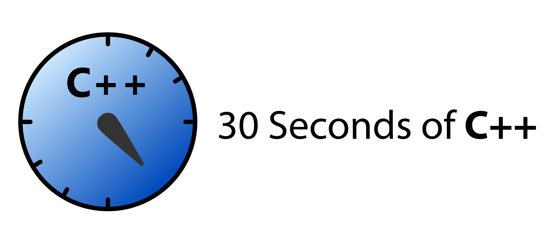 30 Seconds of C++