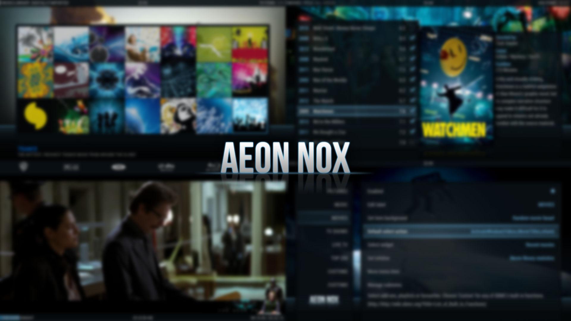 GitHub - BigNoid/Aeon-Nox: A skin for XBMC/Kodi