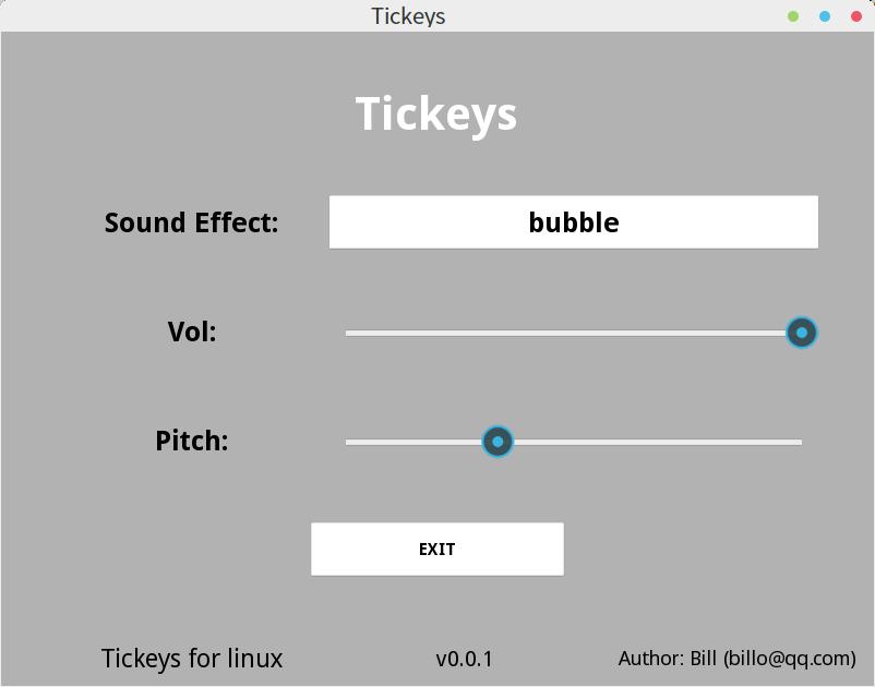 Tickeys v0.0.1