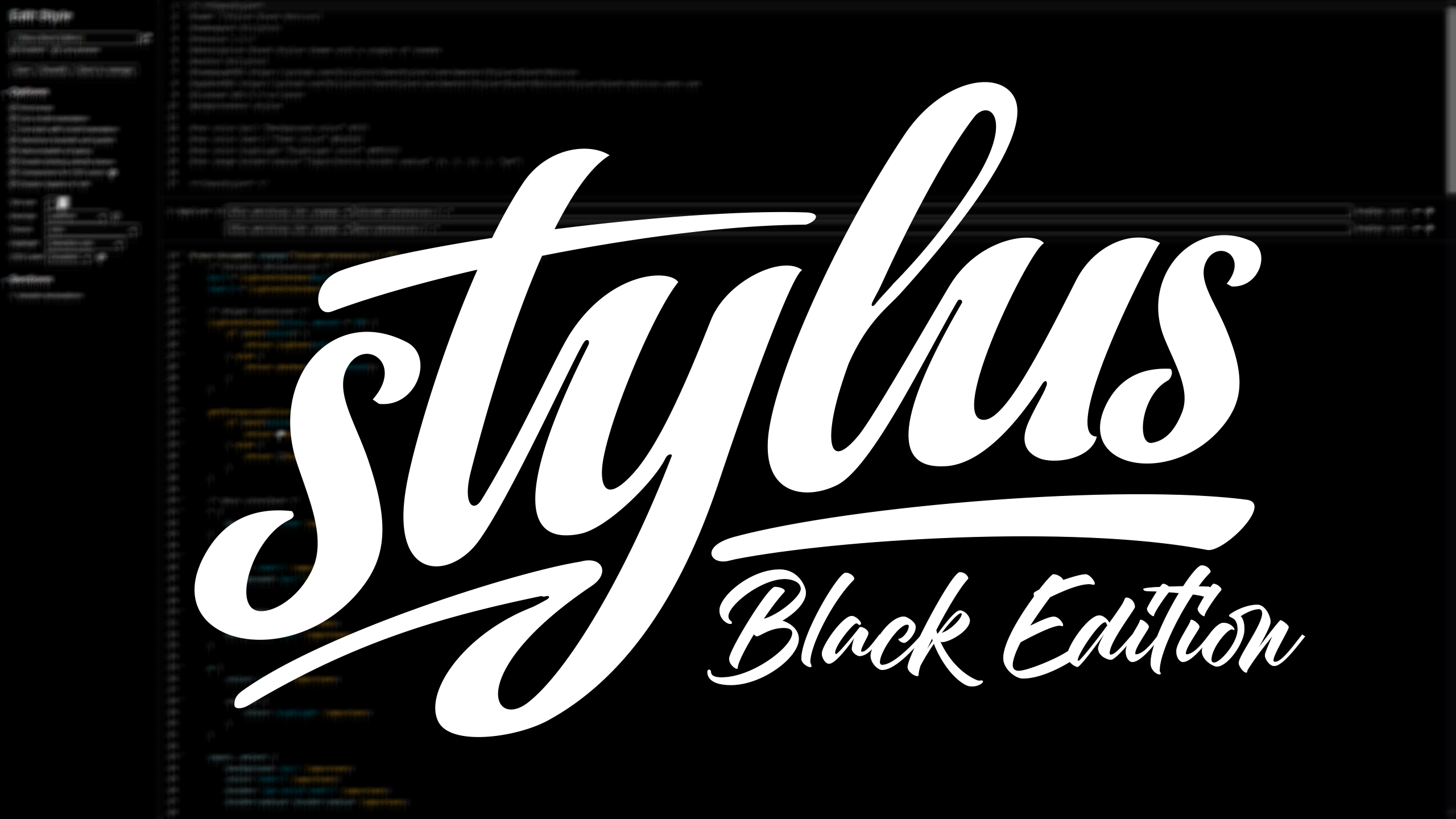 Stylus Black Edition screenshot