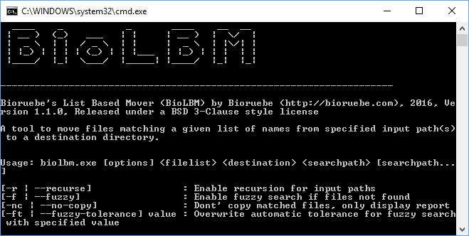 BioLBM Screenshot