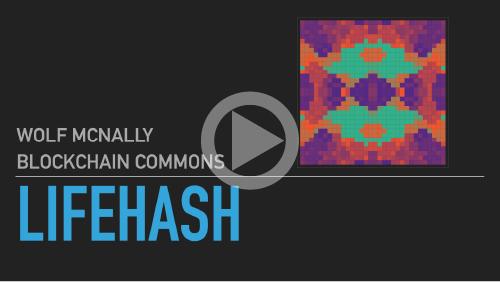 LifeHash Explainer on YouTube