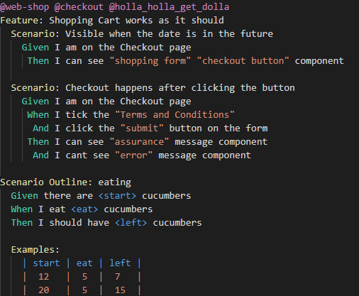 Syntax Highlight screenshot