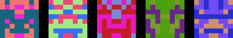 Sample Blockies