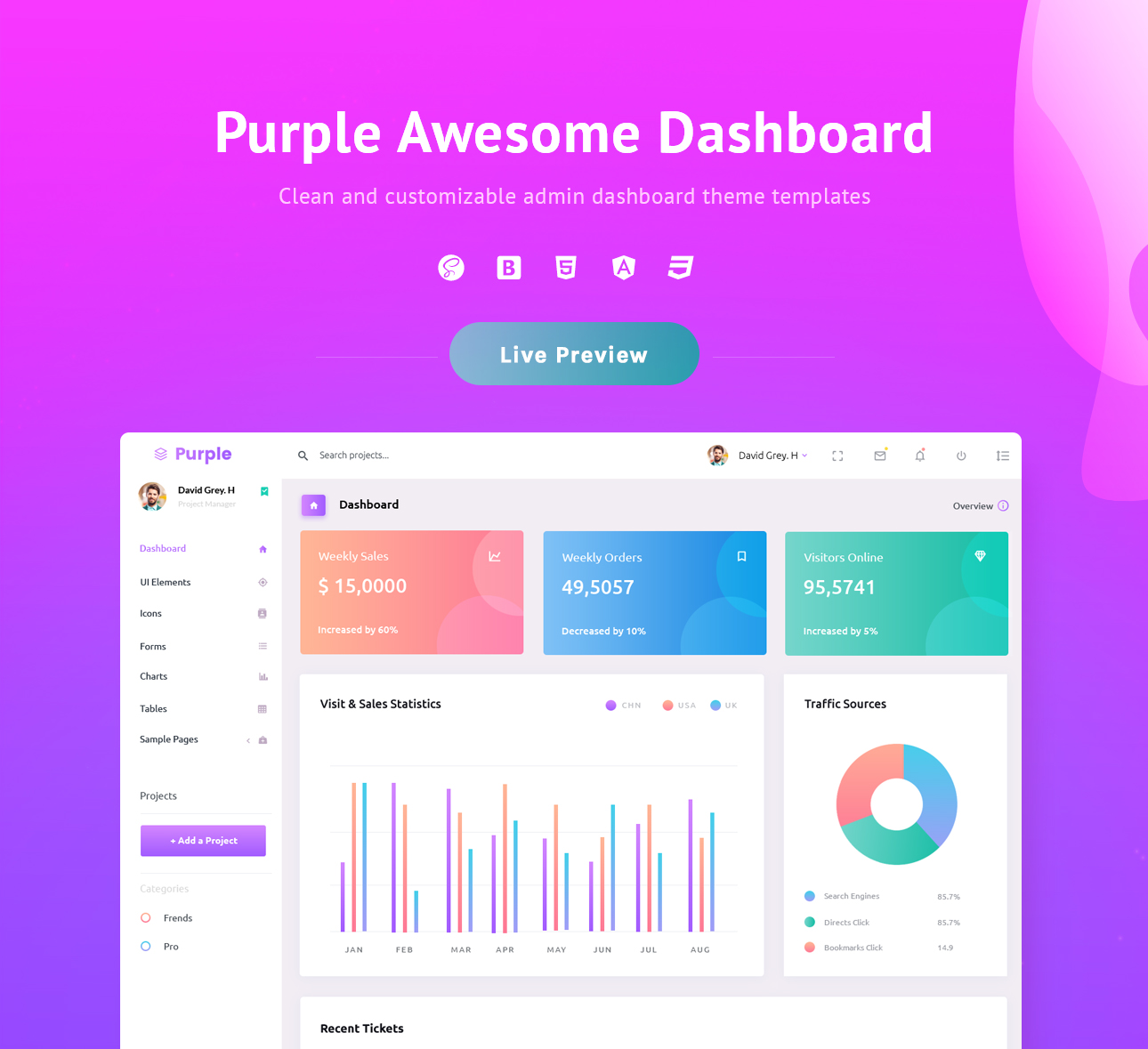 Purple Free - The source code published on Github.