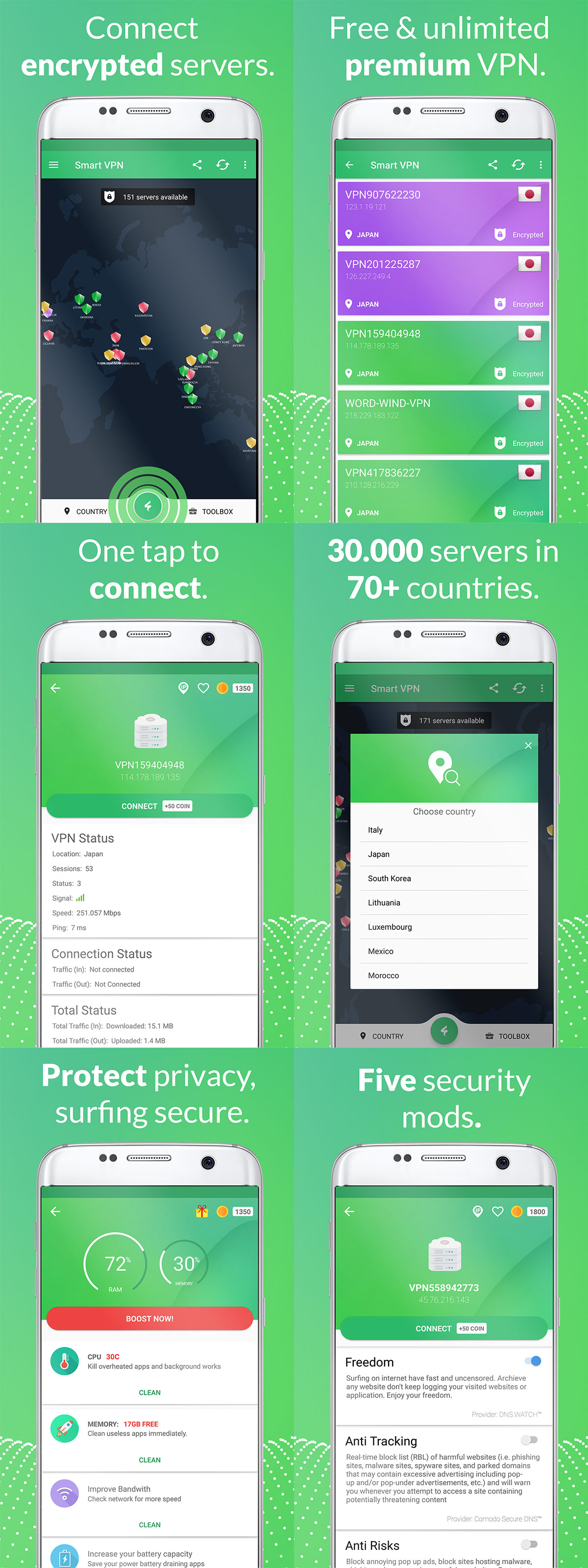 App Unlimited Free Fast Vpn Dns Changer With Adblocker 1000 Servers Xda Developers Forums