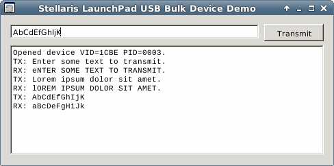 HostApp Linux Screenshot