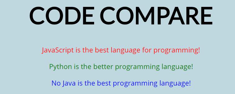 code compare header