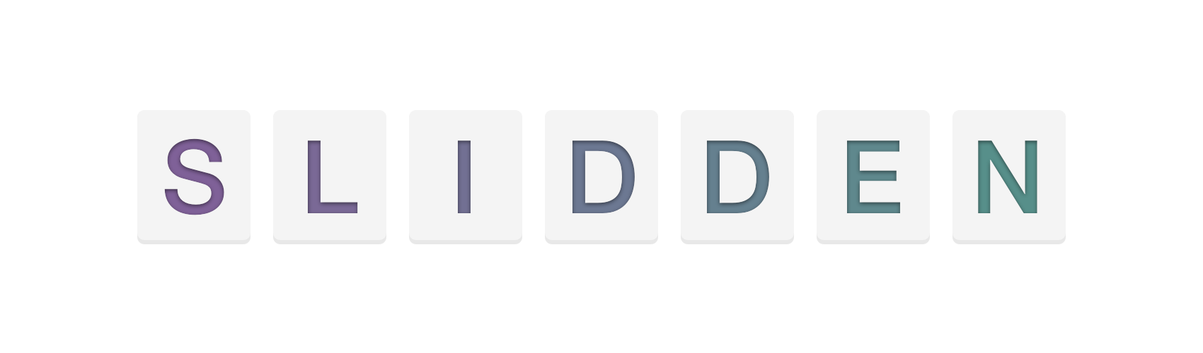 Slidden: An open source, customizable, iOS 8 keyboard written in Swift.