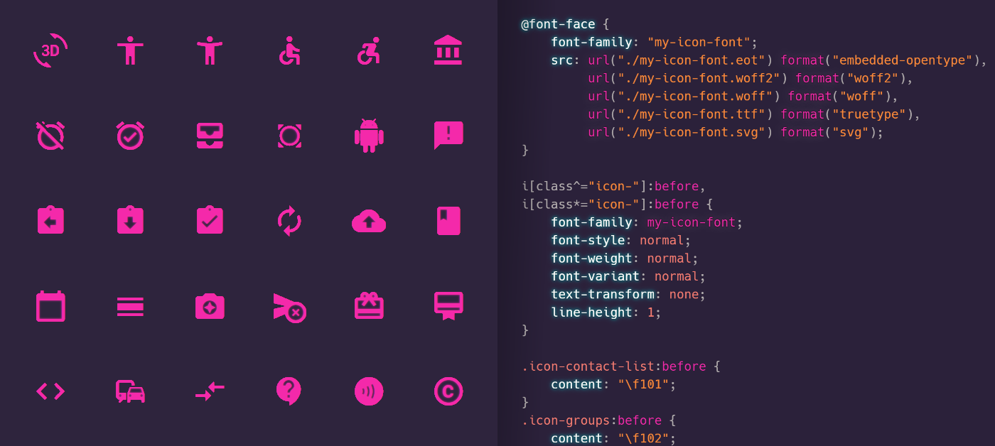 Cover of the article Create an icon web font for your design system