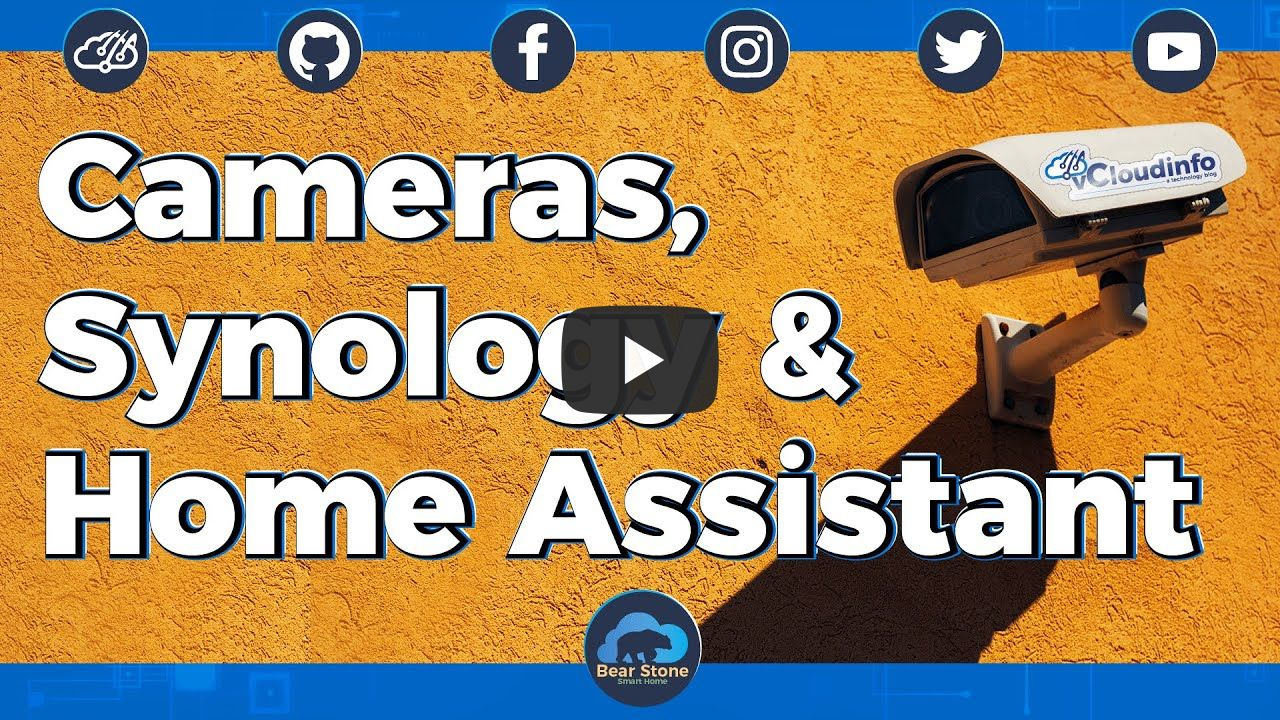 Cameras, Synology and Home Assistant