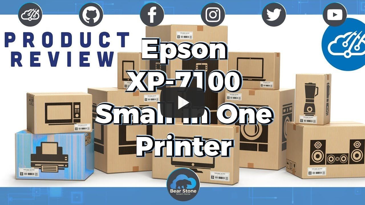 Epson XP-7100 Small-in-One wireless Printer review and Unboxing
