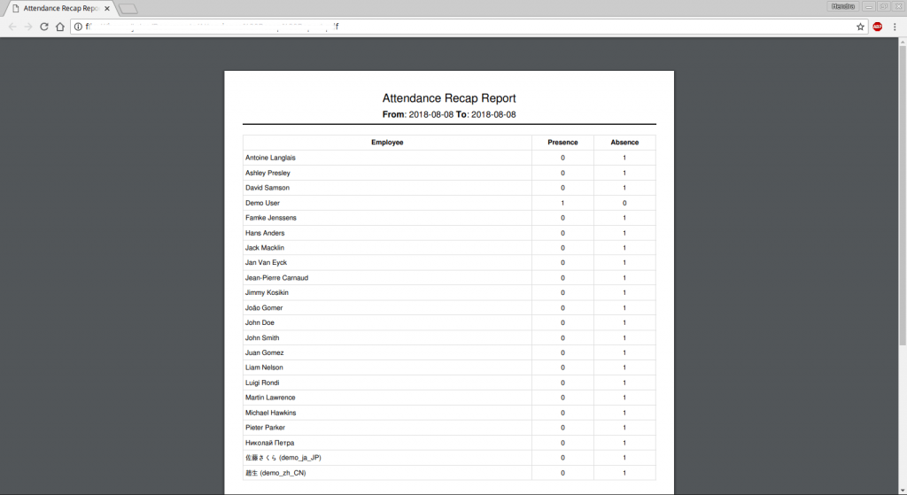 Odoo 11 Custom Report pic 1