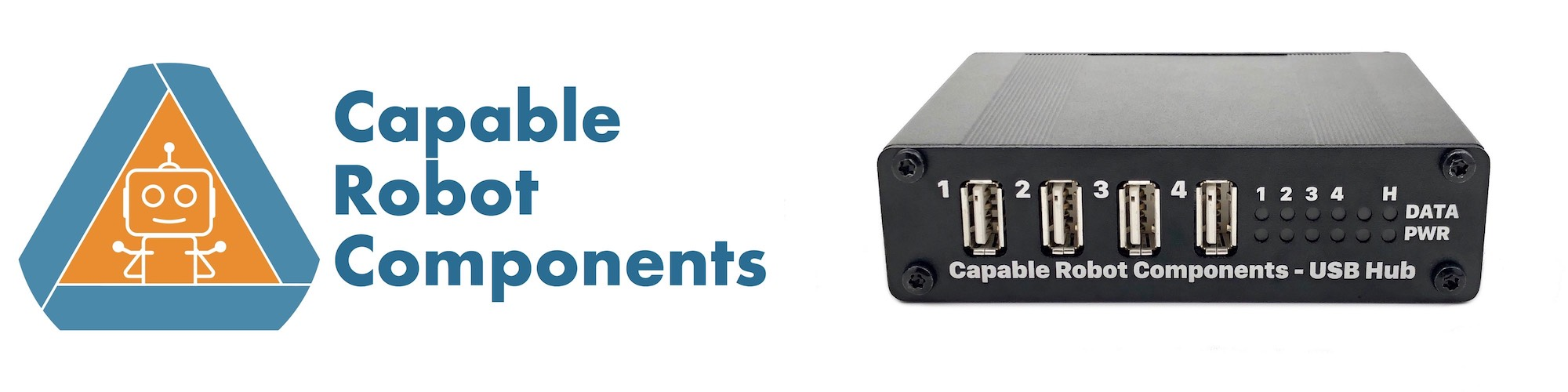 Capable Robot logo & image of Programmable USB Hub