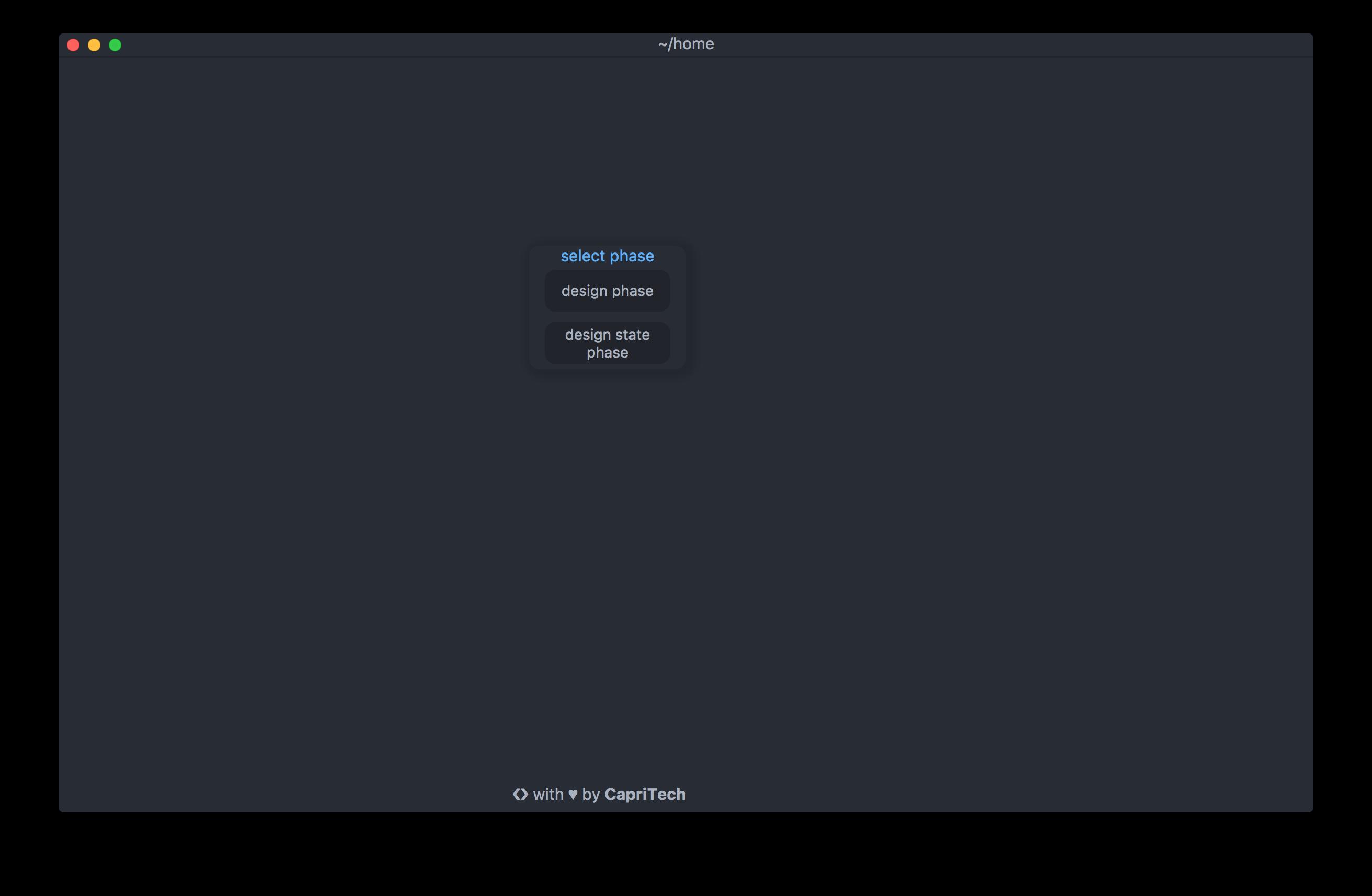 5G-SAT screenshot home
