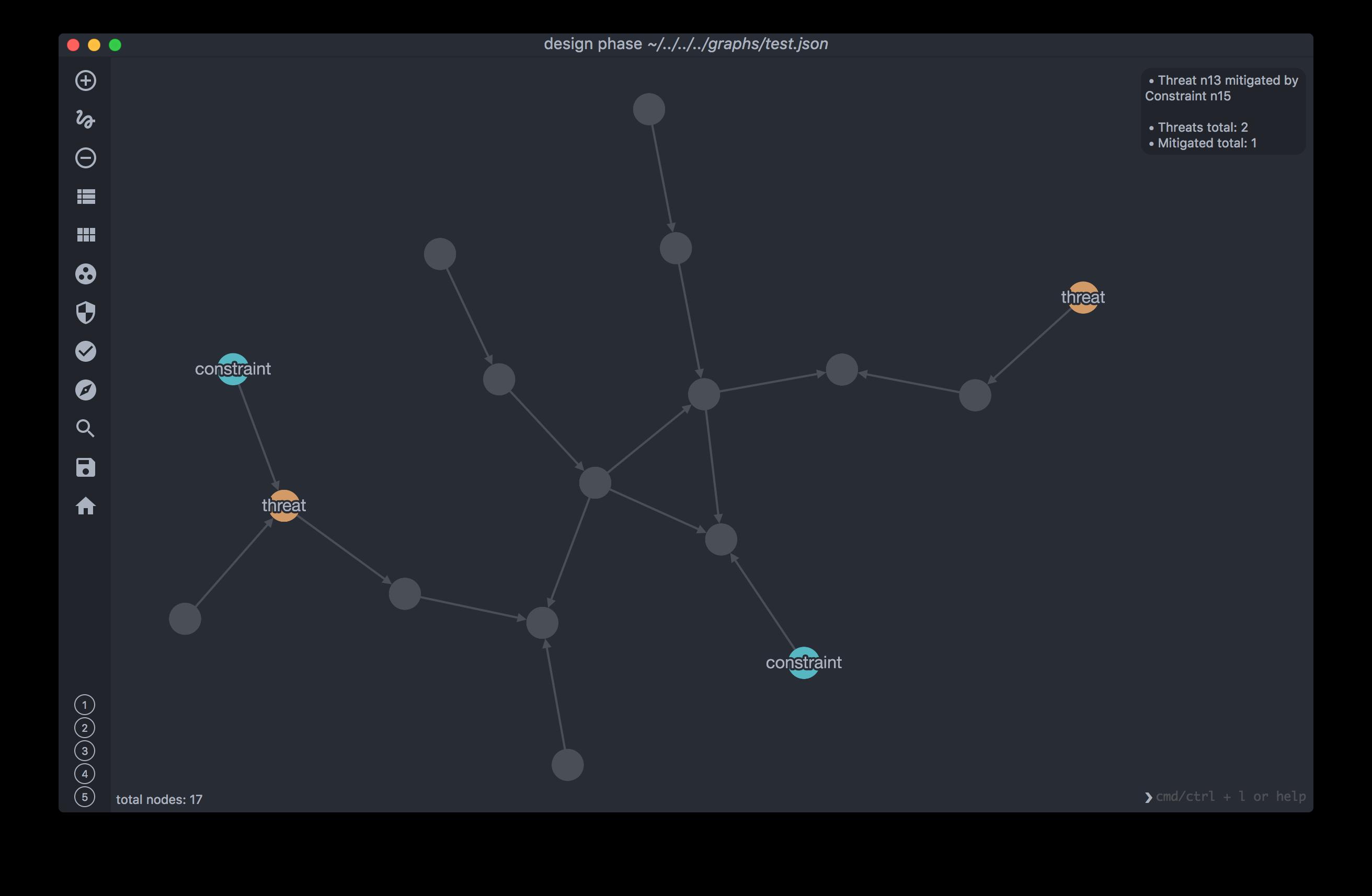 5G-SAT screenshot design phase security analysis