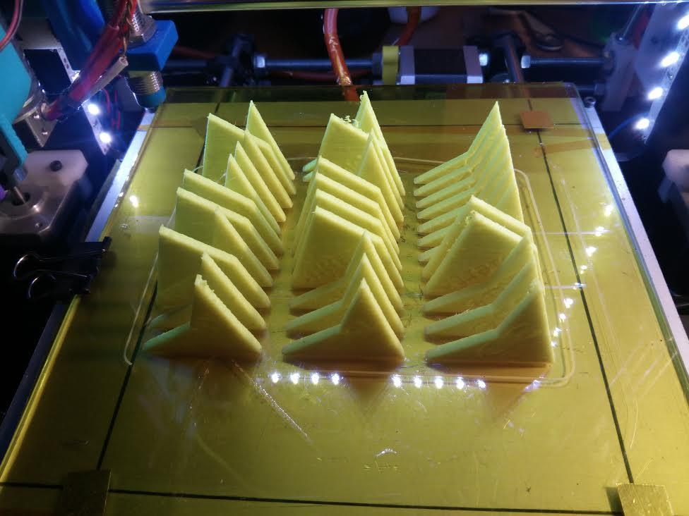 Ansias de imprimir flechas y cometas