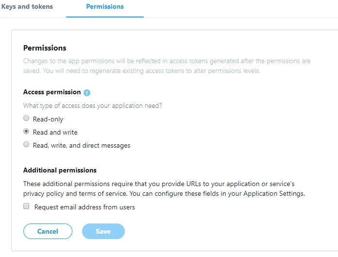Permisions