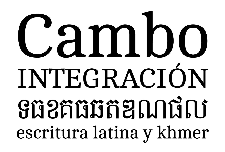 Cambo ht. Khmer / Latín.