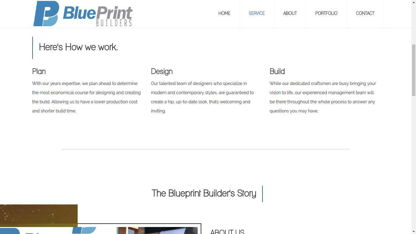 Github carpkblueprint blueprint builders service page malvernweather Image collections