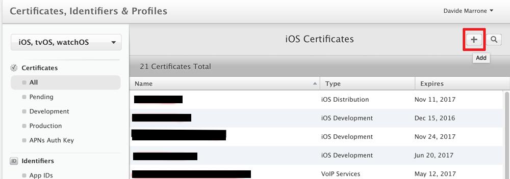 App ID suffix
