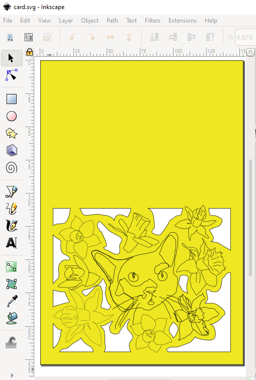 a screenshot from inkscape