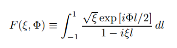 spatial mode overlap integral