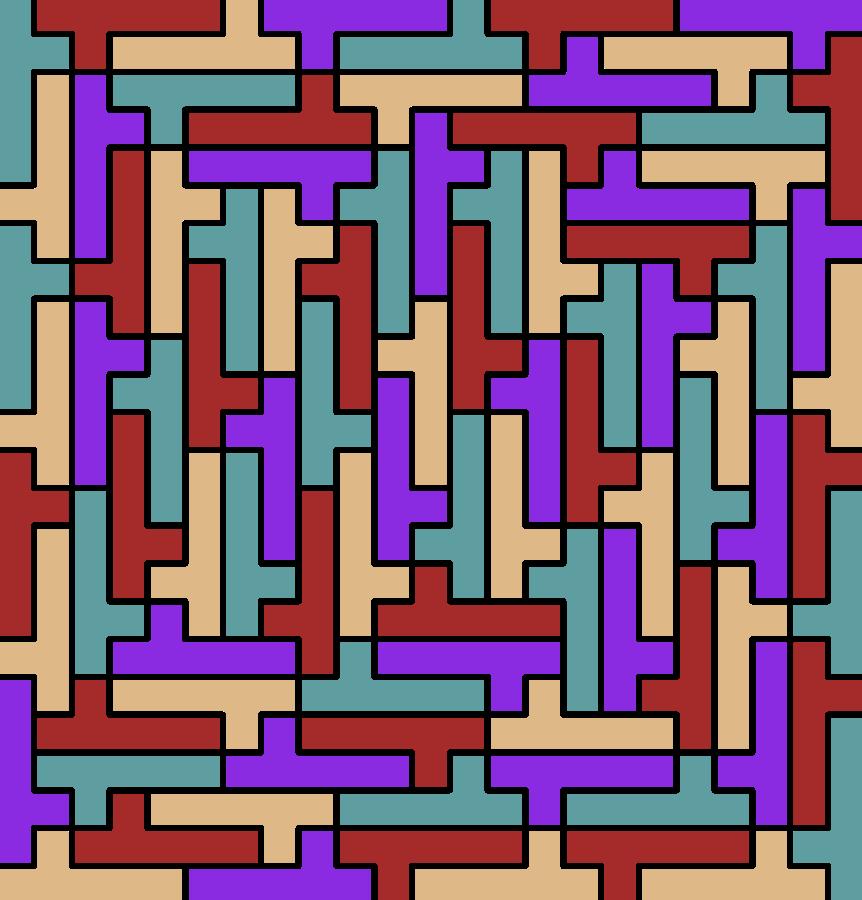 hexomino tiling