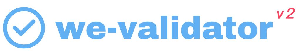 we-validator