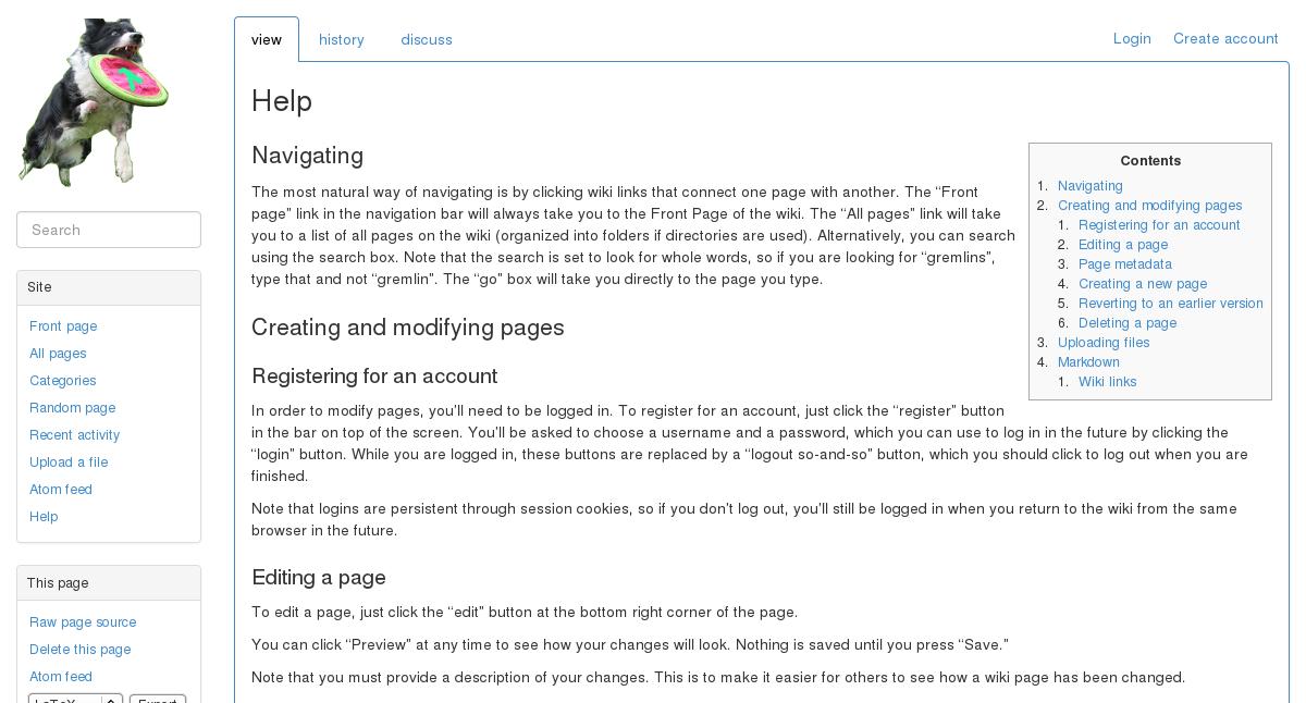 Screenshot of bootstrap theme