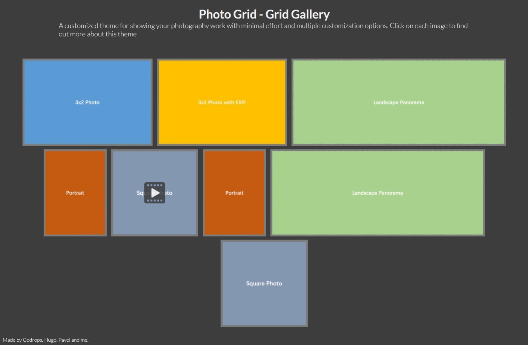 Photogrid screenshot
