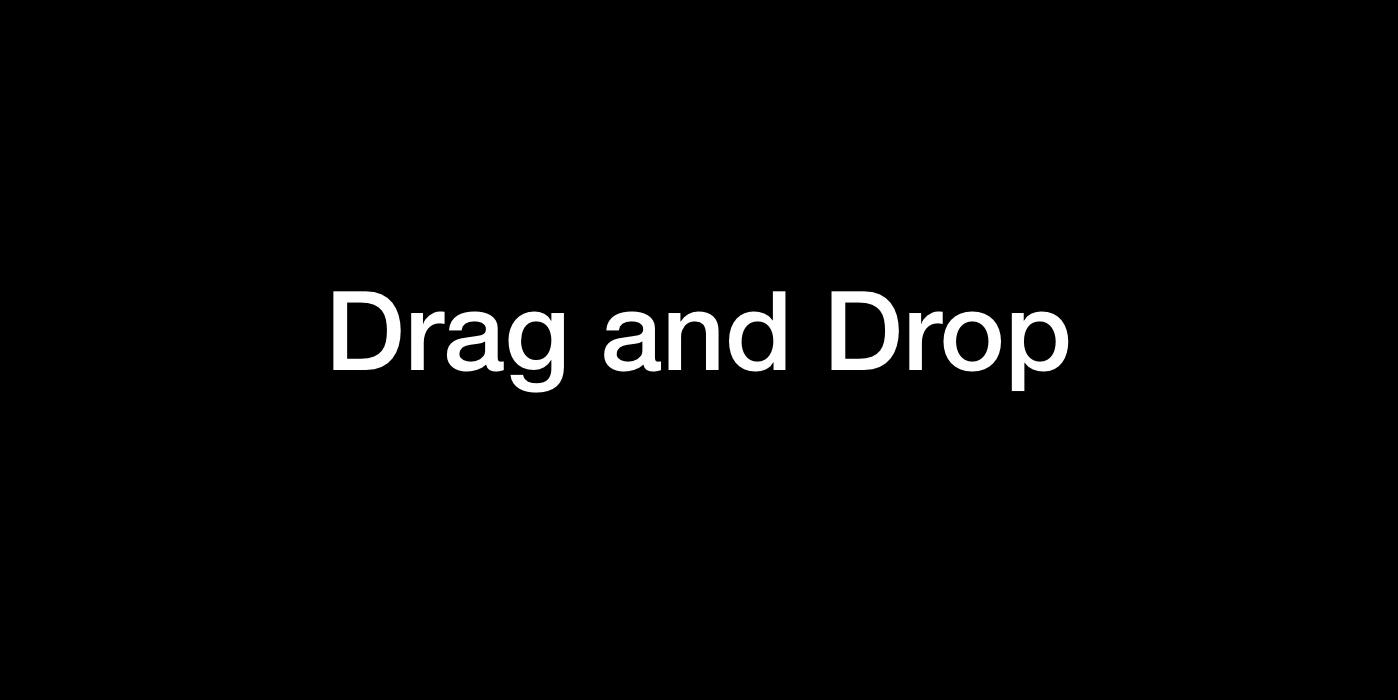 Drag and Drop Logo