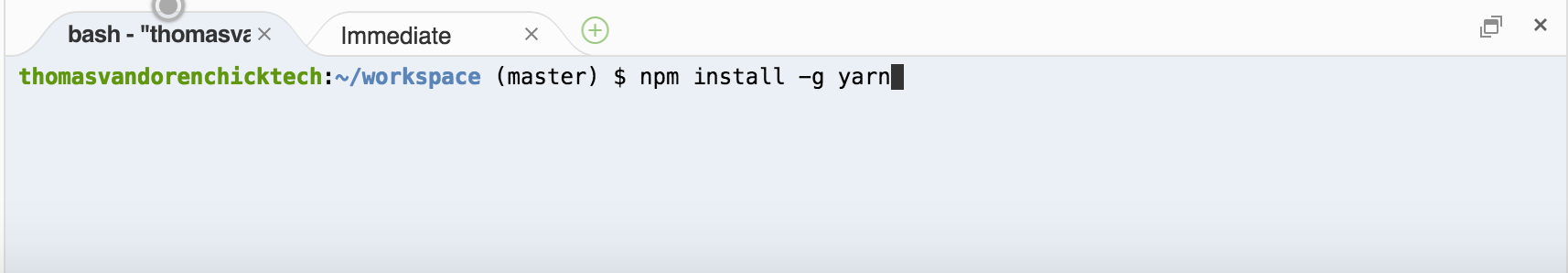c9-install-yarn