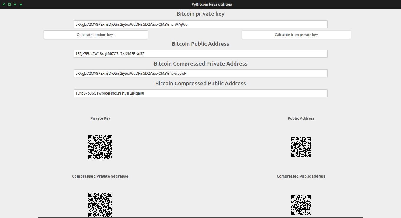 GitHub - Chiheb-Nexus/pyBitcoinUtilities: Generate random