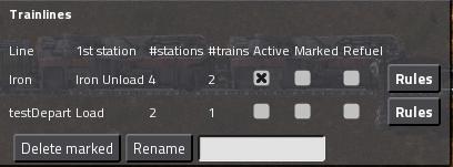 Trainlines UI