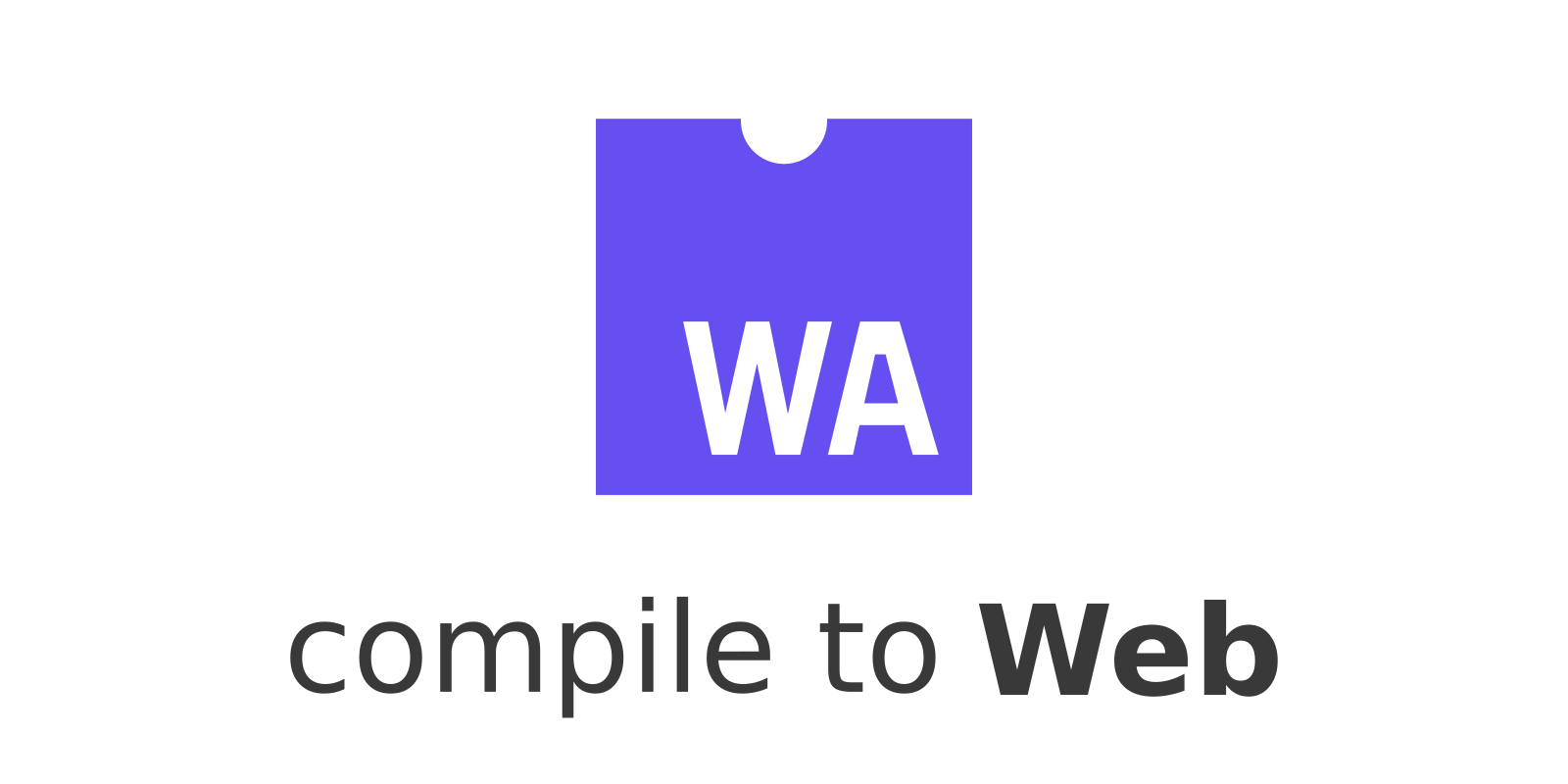 Compile to Web