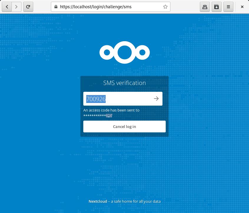 GitHub - nextcloud/twofactor_gateway: 🔑 Second factor provider
