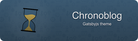 Chronoblog - Gatsby Theme