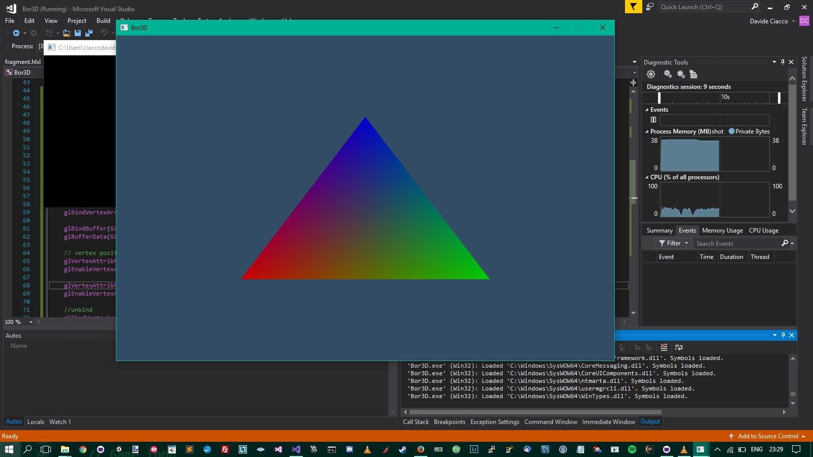vertex and fragment shaders