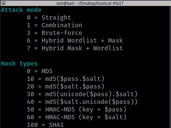 attack modes