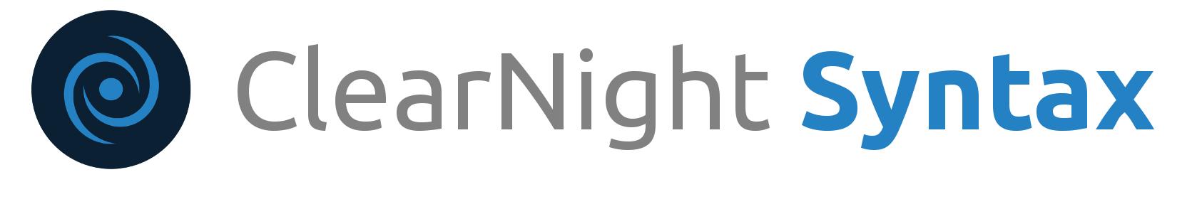 Clear Night Syntax