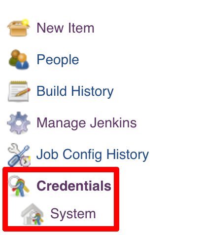 credentials system