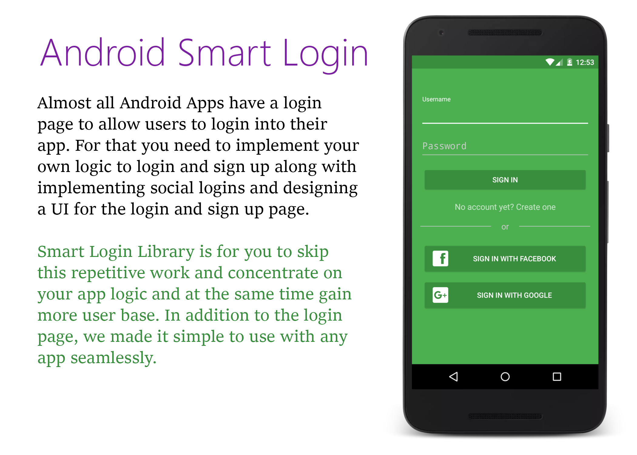 GitHub - CodelightStudios/Android-Smart-Login: A smart way to add