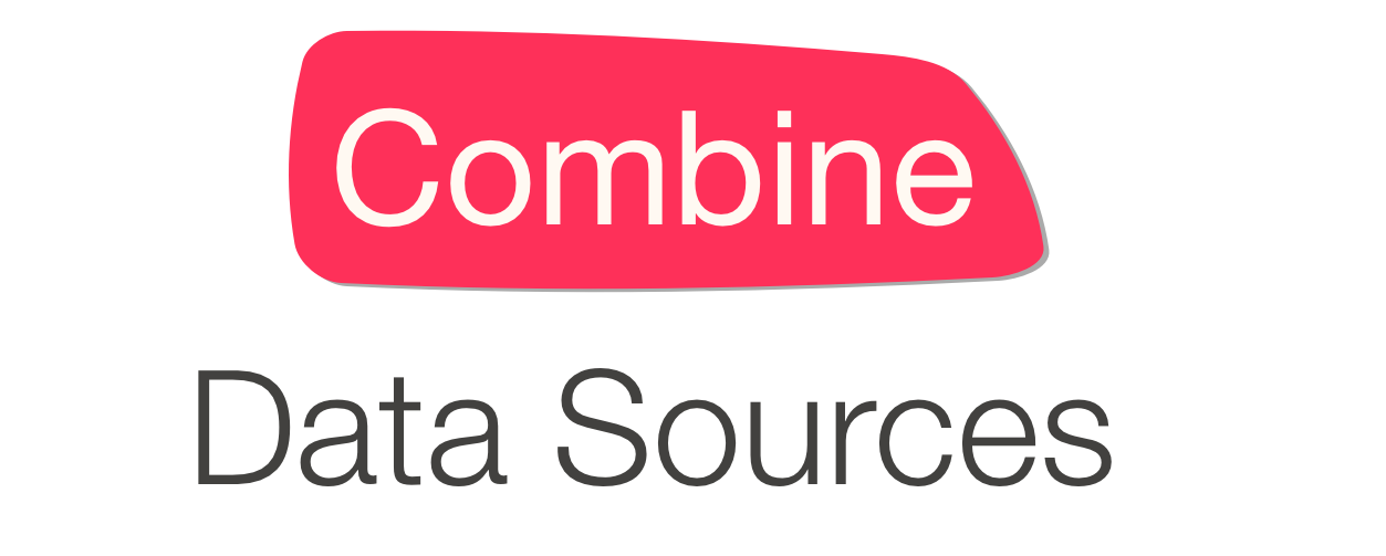 Combine Data Sources